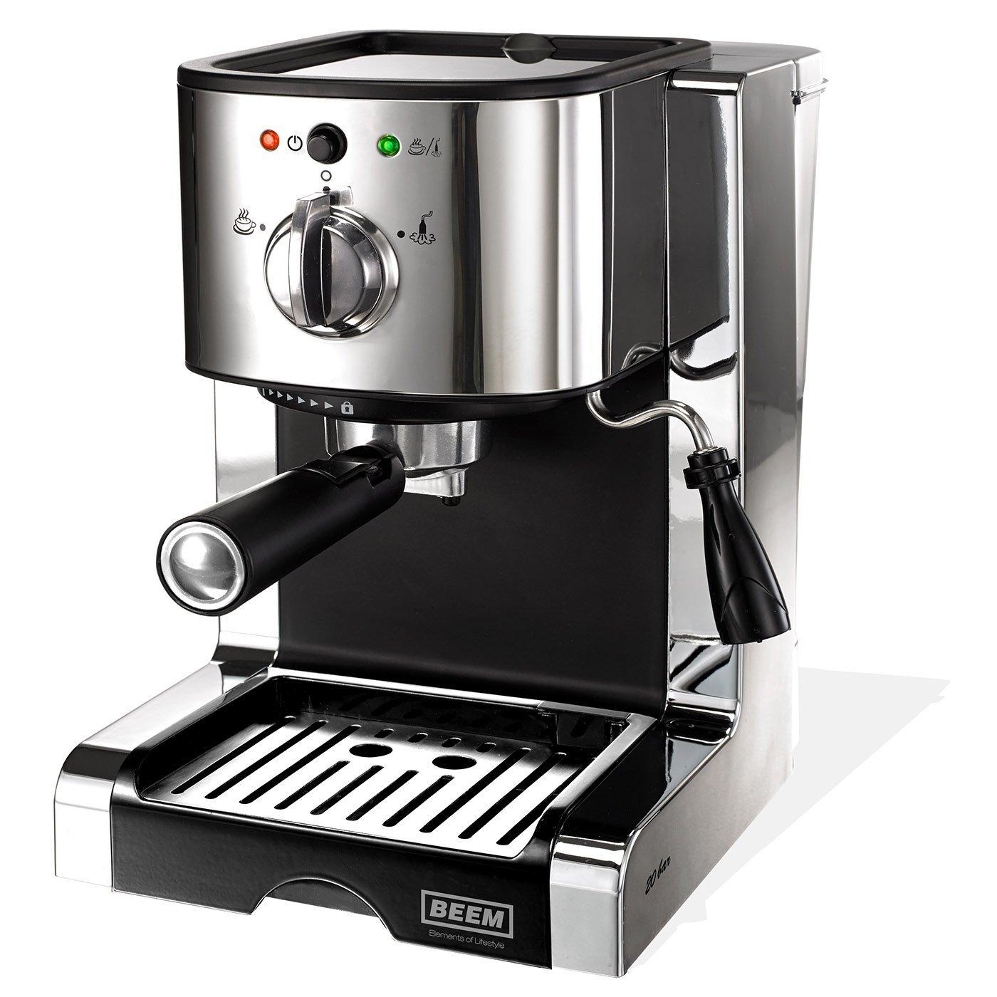 Espressomaschine mit Milchduese
