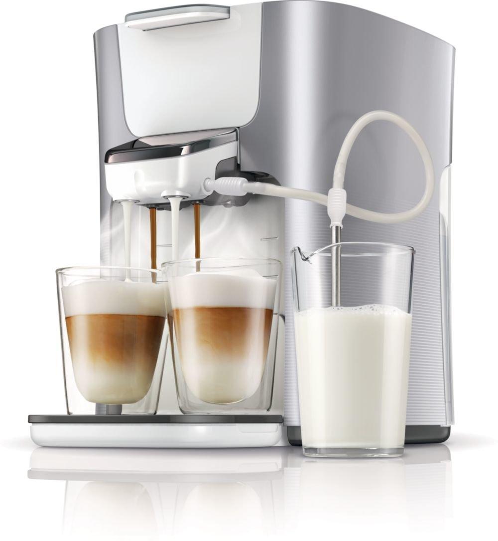 Kaffeemaschine mit Milchaufschaeumer